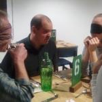 Láthatatlan vacsora 2019. március 19. Pécs, Reggeli étterem.