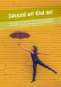 Illusztráció: egy fiatal hölgy esernyőt tart a kezében