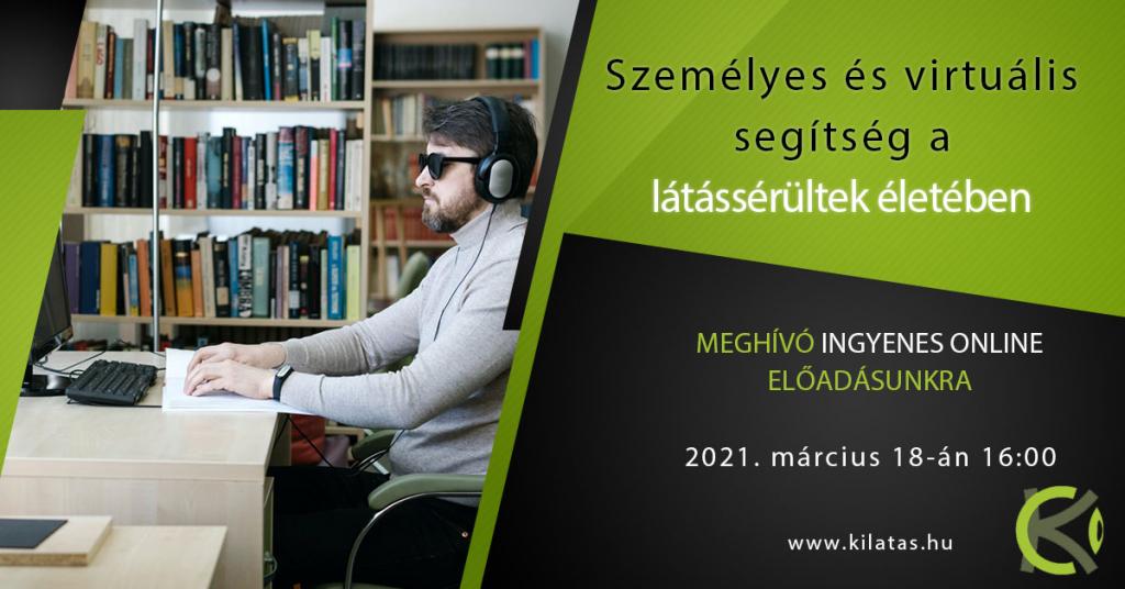 segítség a látássérültek számára)